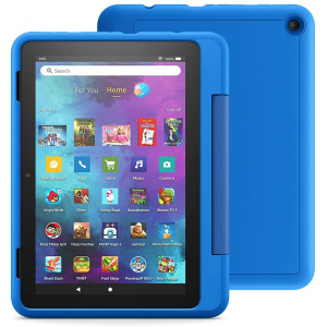 """Amazon Fire HD 8 Kids Pro tablet, 8"""" HD, ages 6 – 12, 32 GB (2020), Doodle"""