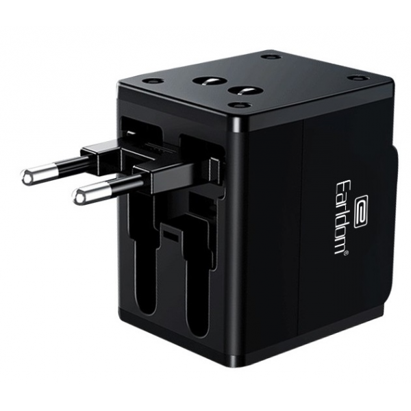 Earldom ES-LC10 Global Universal Charger with Dual USB ports