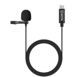BOYA by-M3 Clip-on USB-C Omnidirectional Lavalier Microphone