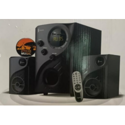 Syinix SYN-2450BSF-D 2.1 Multimedia Speakers with AC/DC