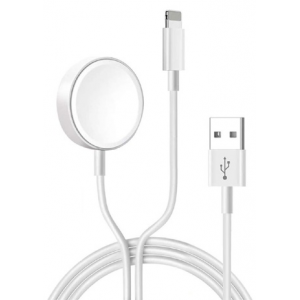COTEetCI WS-19 iWatch Charger Lightning Cable For iWatch & Lightning