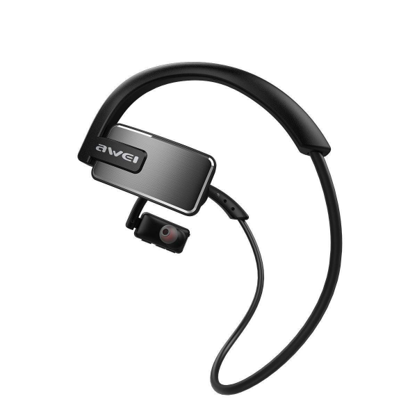 Awei A883BL Wireless Bluetooth Waterproof Sports Outdoors Headphone Earbuds with Mic