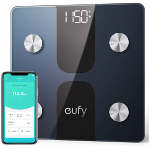 eufy Smart Scale C1 with Bluetooth, Body Fat Scale, Wireless Digital Bathroom Scale