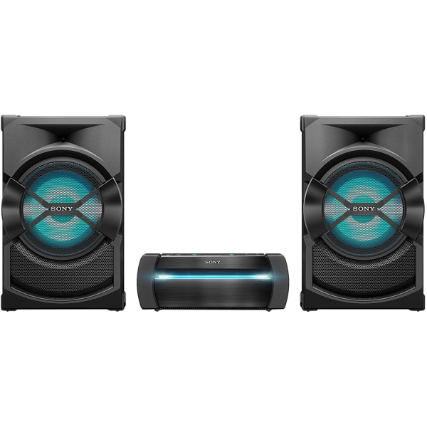 Sony SHAKE-X30D Three Box High Power Audio System, Party Speaker with Lighting