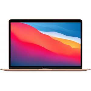 Apple MacBook Air with Apple M1 Chip (13-inch, 8GB RAM, 256GB SSD Storage) - Gold