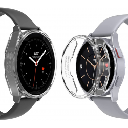 araree NUKIN Crystal Clear Transparent Cover for Samsung Galaxy Watch 4
