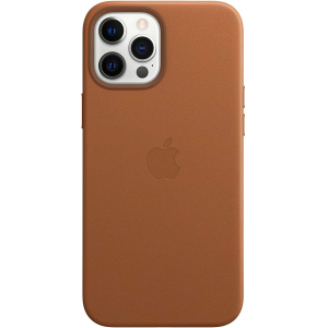 Apple Leather Case with MagSafe for iPhone 12 Pro Max