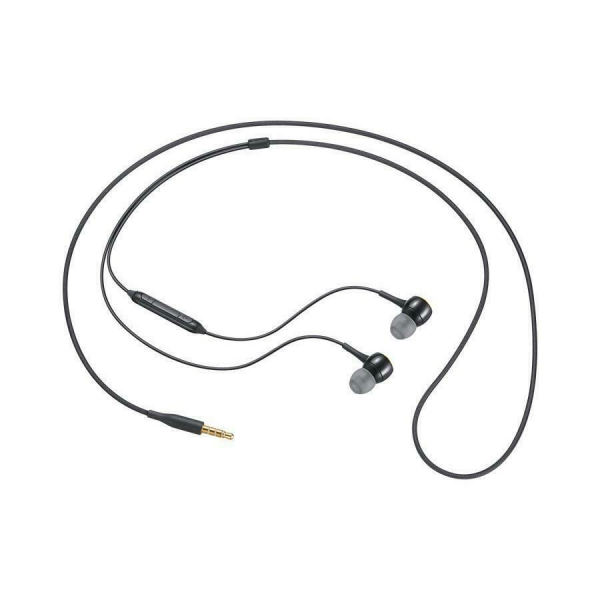 Samsung Stereo In-Ear Tangle Free Headset IG935 with Mic - Black