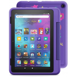 "Amazon Fire HD 8 Kids Pro tablet, 8"" HD, ages 6 – 12, 32 GB (2020), Doodle"