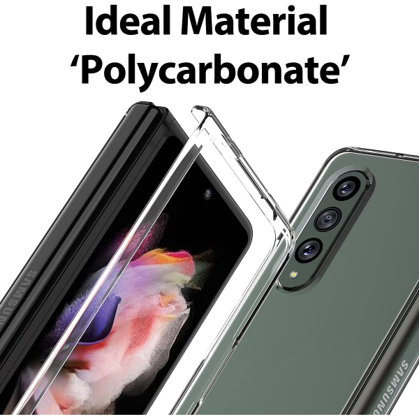araree NUKIN Thin Clear Polycarbonate Cover for Samsung Galaxy Z Fold 3