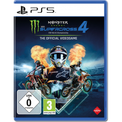Deep Silver Monster Energy Supercross 4 - PlayStation 4 - PlayStation 5