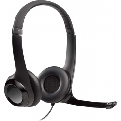 Logitech H390 USB Headset  with Noise Cancelling Mic - Black