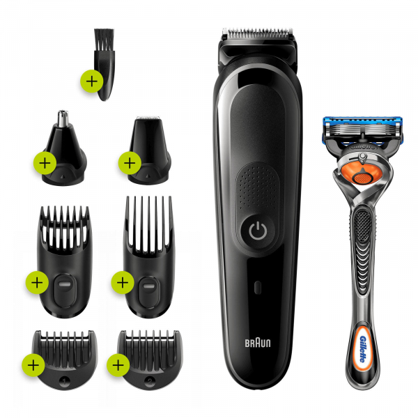 Braun MGK5260  8-in-1 styling kit All-in-One trimmer 5 for Face, Hair, and Body