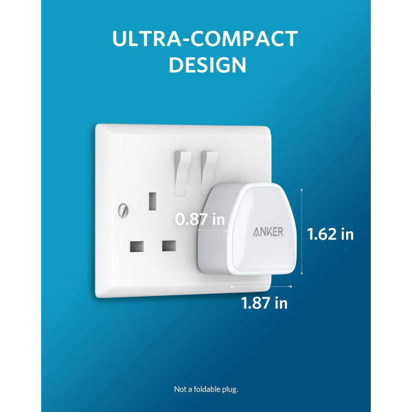 Anker  PowerPort III Nano USB-C Compact Fast Charger
