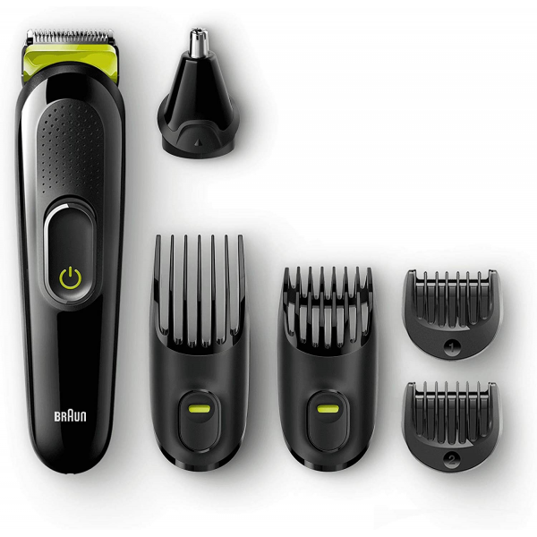 Braun MGK3021 6-in-1 All-in-one trimmer  Beard Trimmer & Hair Clipper Ear & Nose Trimmer