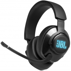 JBL Quantum 400 - Wired Over-Ear Gaming Headphones with USB and Game-Chat Balance Dial