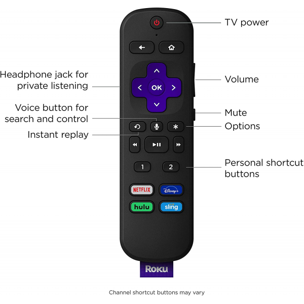 Roku Ultra 2020 Streaming Media Player HD/4K/HDR/Dolby Vision & Dolby Atmos