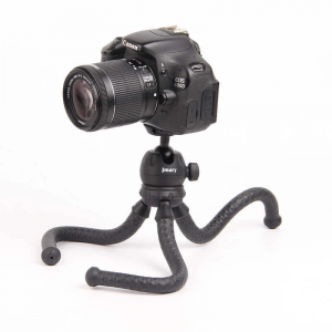 JMARY MT-25 - Table Top Mini Portable Flexible Tripod Stand for Mobile Phones and DSLR & Digital Cameras