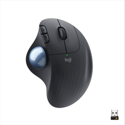 Logitech ERGO M575 Wireless Trackball Mouse with Bluetooth, USB