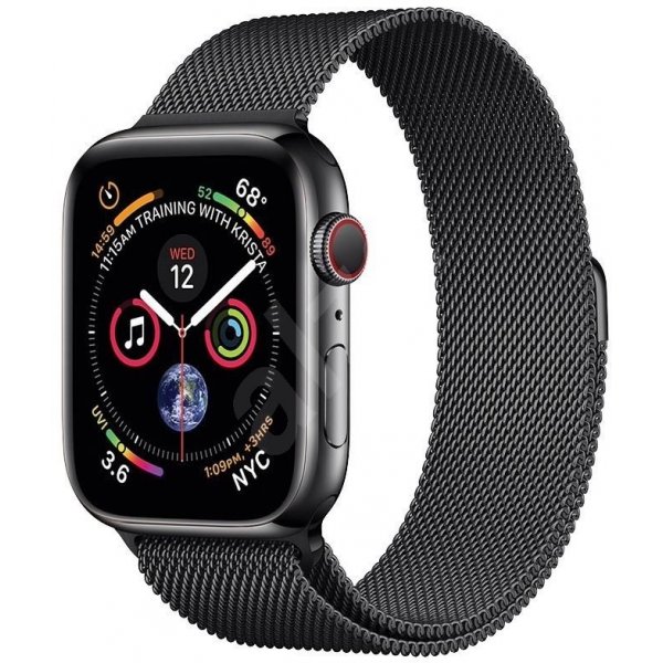 COTEetCI Steel Magnetic Strap for Apple Watch 42 / 44mm Black