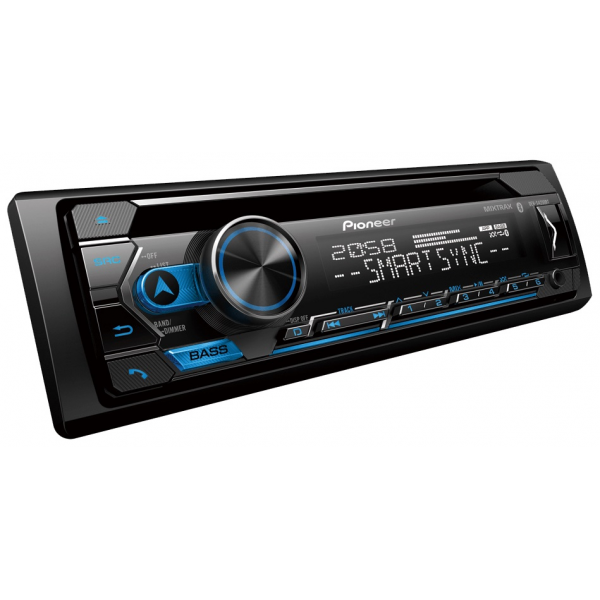 Pioneer DEH-S4250BT  CD and Digital Media Receiver with Dual Bluetooth