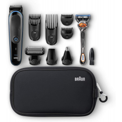 Braun Multi Grooming Kit MGK3980 – 9-in-1 Precision Trimmer for Beard and Hair Styling