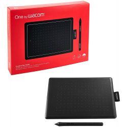 One by Wacom Drawing Tablet for Windows PC, Mac, Chromebook