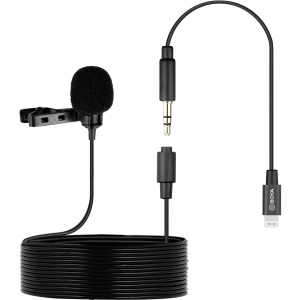 BOYA by-M2 Clip-on Lavalier Lightning Microphone for iOS