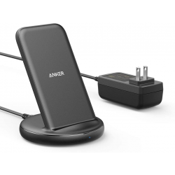 Anker PowerWave II Stand, Qi-Certified 15W Max Fast Wireless Charging Stand