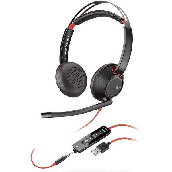 Plantronics  Blackwire C5220 Wired, Dual-Ear (Stereo) Headset