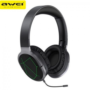 AWEI A799BL Gaming Headset Bluetooth V5.0 3D Sound Foldable Wireless Wired Headphone