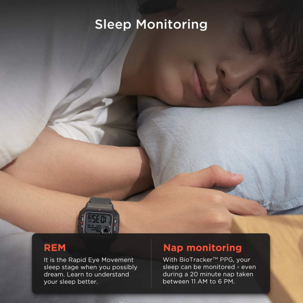 Amazfit Neo Fitness Retro Smartwatch with Heart Rate and Sleep Monitor