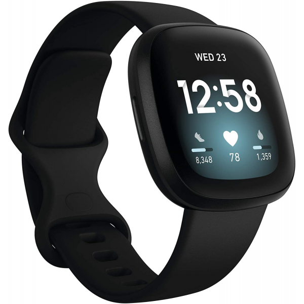 Fitbit Versa 3, Health & Fitness Smartwatch with GPS