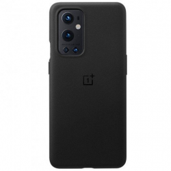 Official OnePlus 9 Pro Sandstone Bumper Case - Black