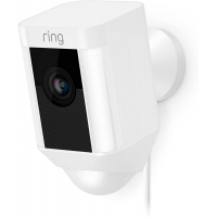 Ring Spotlight Wired Cam - WiFi Smart Home Security Camera