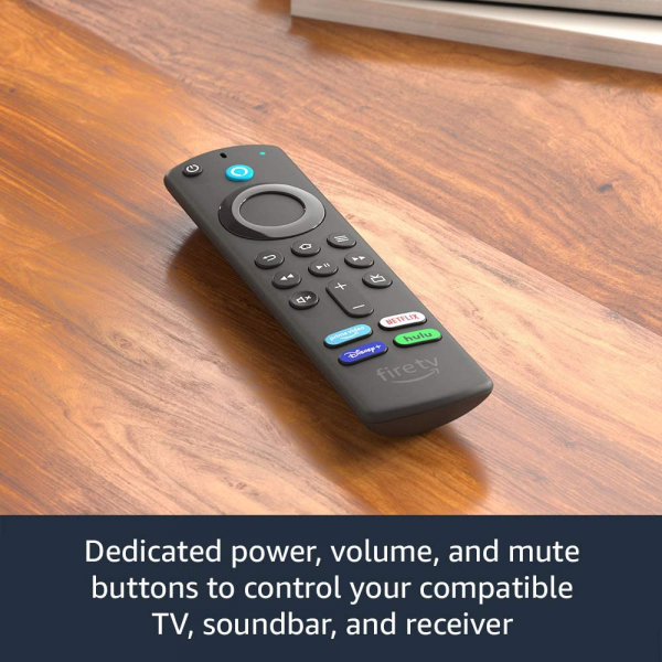 Amazon Alexa Voice Replacement Remote (3rd Gen) with TV controls 2021 release