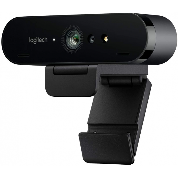 Logitech BRIO 4K Webcam for Video Conferencing, Recording, and Streaming