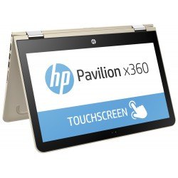 HP Pavilion X360 13'' - Dual Core - 128GB SSD - 4GB RAM - Windows 10 - Silver
