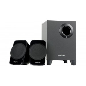 Creative A120 - 2.1Ch PC Speakers with Subwoofer - Black