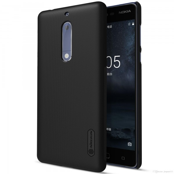 Nillkin Super-Frosted-Shield Executive Case for Nokia 6 -Black