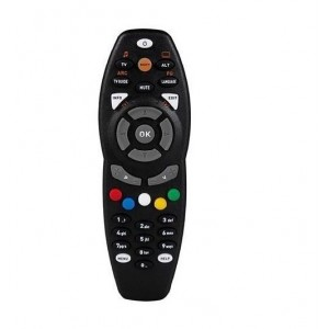 Gotv Replacement Remote Controller Black