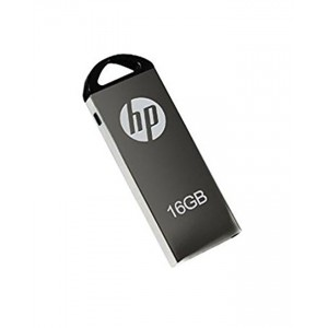 HP USB 2.0 Flash Drive - 16GB - Silver