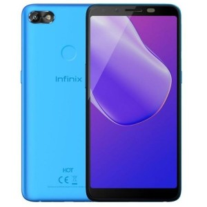 "Infinix HOT 6 - 1GB RAM - 16GB - 6"" - 13+5MP- FingerPrint - 4000mAh - 3G - Face ID - Black"