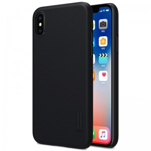 Nillkin Super-Frosted-Shield Executive Case for iPhone X Black