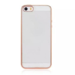 iPhone 5/5s/SE Luxury Clear Crystal Soft Electroplating TPU Case