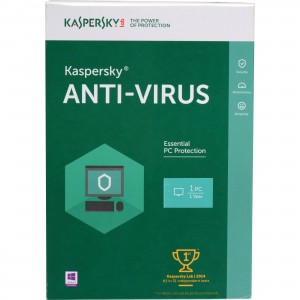 Kaspersky ANTIVIRUS- 1 User + 1 Free