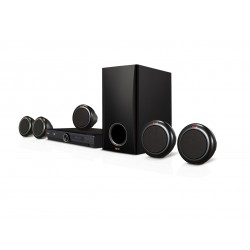 LG DH3140S - 5.1 Channel DVD Home Theater System - 300W - Black