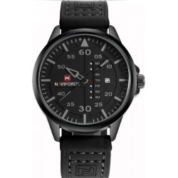 Naviforce 9074 Fashion Army Sport Men Wrist Watch Casual Analog Date Leather Band Quartz Watch