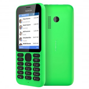 Nokia 215 Dual SIM, Black and Red