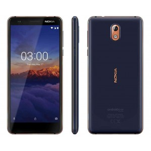 "Nokia 3.1 - 5.2"", 16GB, 2GB RAM, 13MP Camera (Dual SIM) Black"
